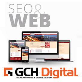 Лого на  Изработка на онлайн магазин | Рекламна агенция GCH Digital
